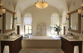 Spanish Tile Bathroom Ideas View In Gallery Exposed Beams Can Be Rustic And Majestic Spanish