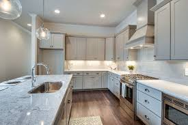 White Cabinets With Grey Quartz Countertops 25 Beautiful Transitional Kitchen Designs Pictures Designing Idea