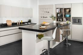 cuisine avec presqu ile faire une cuisine ouverte
