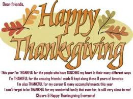 thanksgiving text messages friends special day celebrations