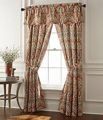 Rust Colored Kitchen Curtains Window Treatments Curtains U0026 Valances Dillards