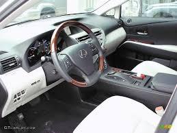 lexus rx 450h interior light gray espresso birds eye maple interior 2010 lexus rx 450h