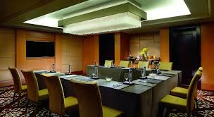 Conference Meeting Table Business And Meeting Hotels In Bangalore The Ritz Carlton