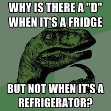 Fridge Meme - english los angeles esl memes for english students
