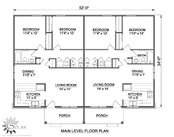 Multi Unit Apartment Floor Plans Best 25 Duplex Plans Ideas On Pinterest Duplex House Plans