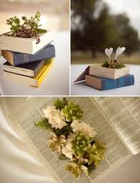 themed wedding centerpieces book themed wedding ideas read breathe relax