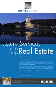 modern professional newspaper ad design for nida real estate by