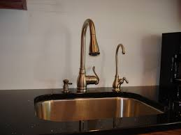 Kohler Gooseneck Kitchen Faucet by Gold Kitchen Faucets Trends Including Unlacquered Brass Faucet