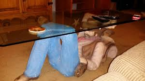 Funny Coffee Tables - my brother in law got this coffee table and it keeps scaring the