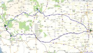 Old Route 66 Map by 2010 Trip To Los Alamos And Casa Grande