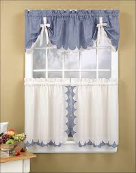 Stylish Kitchen Curtains by Country Kitchen Curtains Cottage Decorating Wonderful Cottage