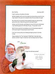 personalized letter from santa my dear santa letter santa letters dear santa letter santa