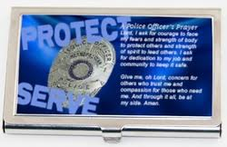 Nypd Business Cards Police Officer Gifts Personalized Law Enforcement Gift
