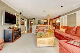 amerikanisches sofa kaufen ideen kleines wohnzimmer amerikanischer stil vintage retro