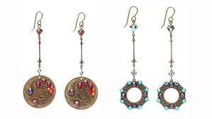 flat back earrings flat back earrings facet jewelry