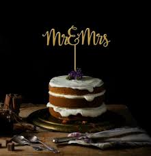 mrs mrs cake topper mr and mrs cake topper wedding cake topper mr mrs gold cake