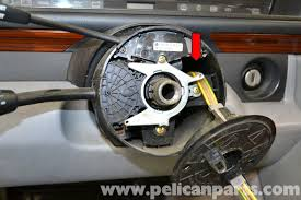 mercedes benz w124 steering wheel and air bag removal 1986 1995
