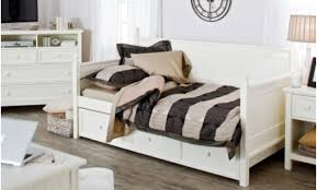Futon With Storage Drawers Daybed Furniture White Wooden Daybed With Drawers Underneath