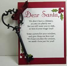 santa key for those of us who do not a chimney like us strange i
