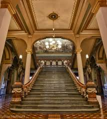 Iowa State Capitol by Iowa State Capitol United States Culture Staircases