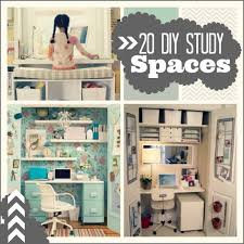 Diy Study Desk 20 Do It Yourself Study Spaces Home Stories A To Z