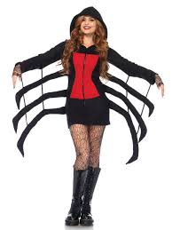 cozy spider costume 85558 fancy dress ball