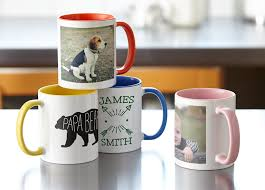 custom printed photo mugs vistaprint ca