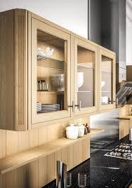 placard cuisine moderne agréable cuisine moderne blanche et bois 12 porte vitr233e meuble