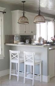 Black Kitchen Pendant Lights Home Design Concrete Countertop Small Marble Bar Counter Black
