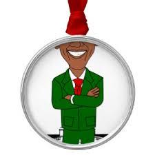 santa obama ornaments keepsake ornaments zazzle