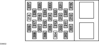 ford transit mk6 from 2000 u2013 fuse box diagram eu version