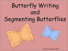 butterfly writing and segmenting words by powers tpt