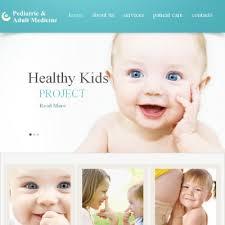 pediatrician facebook html cms template premium template and