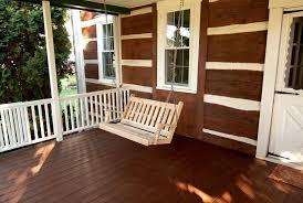 buy the a u0026 l western red cedar traditional english porch swing