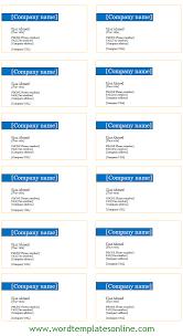 Openoffice Business Card Template Card Open Office Card Template