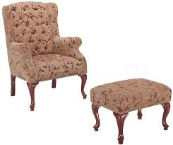 Accent Chair And Ottoman Set Accent Chairs Classic U0026 Traditional Accent Chairs