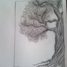half tree by marlainawho on deviantart
