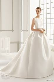 clean wedding dress rosa clara 2016 wedding dresses preview wedding inspirasi