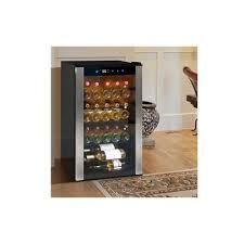 vinotemp 34 bottle single zone freestanding wine cooler wayfair