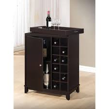kitchen cabinet white wooden wine rack bar cabinet furniture