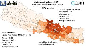 Where Is Nepal On The Map Deadly Earthquake Nepal 25 04 2015 U2013 Archived Part Nr 5 April 29