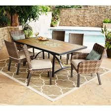 sam s club kitchen table member s mark essex 7 piece dining set with premium sunbrella fabric