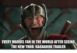 Thor Meme - every marvel fan in the world after seeing the new thor ragnarok