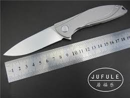 custom made kitchen knives jufule yidu custom made neon ceramic bearing d2 blade titanium