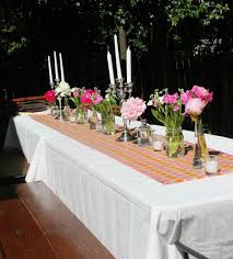 room thanksgiving backyard dinner party decorating ideas table