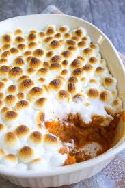 thanksgiving yams with marshmallows marshmallow u0026 caramel sweet potato casserole lipgloss and crayons