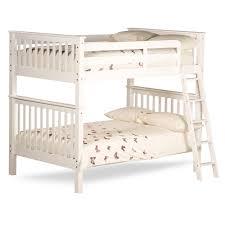 Malvern White Wooden Quadruple Sleeper Bunk Bed - Quadruple bunk beds
