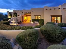 santa fe style homes tucson az home design and style saddle up with these southwestern homes wood beam ceilings beam