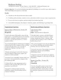 Resume Career Goal Examples by Tree Trimmer Resume Resume For Your Job Application
