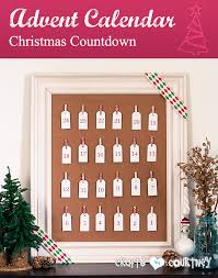 christmas countdown calendar advent calendar christmas countdown